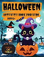 Halloween Activity Book for Kids Ages 4+: Coloring, Mazes, Puzzles, Word Search and More, Fun Halloween Activities for Hours of Play