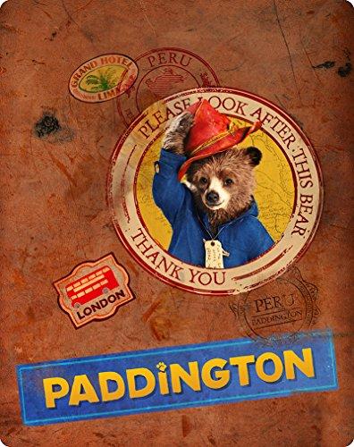 Paddington BluRay UK Limited Edition Steelbook [Blu-ray]