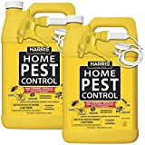 Harris Home Insect Killer, Liquid Gallon Spray with Odorless and Non Staining Residual Formula - Kills Ants, Roaches, Spiders, Kudzu Bugs, Stink Bugs, Fleas, Mosquitos, Moths, Scorpions, Flies and Silverfish (2-Pack)