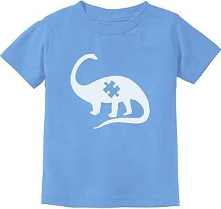 TeeStars - Puzzle Dinosaur - Autism Awareness Toddler/Infant Kids T-Shirt