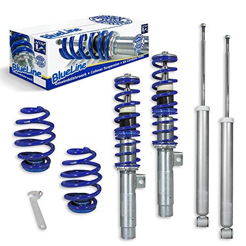 JOM Car Parts & Car Hifi GmbH 741015 Gewindefahrwerk Blueline Set VA/HA