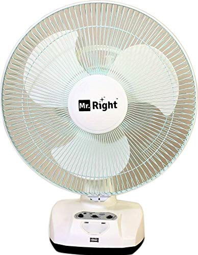 Mr. Right 3 Blade Oscillating AC-DC Rechargeable Plastic...