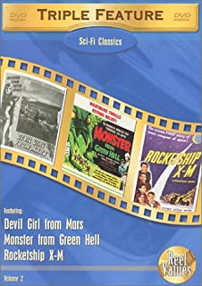 Sci-Fi Classics Triple Feature - Volume 2: (Devil Girl from Mars / Monster from Green Hell / Rocketship X-M)