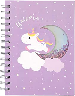 Unicorn Notebook Journal Diary for Girls Notepad Note Book For Kids Cute Unicorn Gifts Stationary Set For Teenager Unicorn...