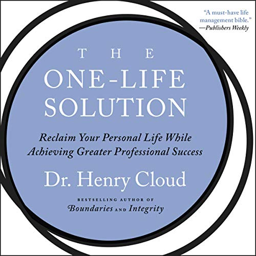 The One-Life Solution audiobook cover art