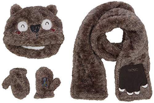 Tuc Tuc 50275 Set de bufanda, gorro y guantes, Gris (Gris...