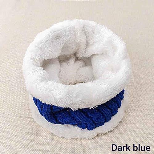 LASISZ Fashion Kinderen Ring Sjaal Winter Nek Sjaal Voor Kinderen Breien Sjaal Jongens Meisjes Zachte Warme Sjaals Comfortabel