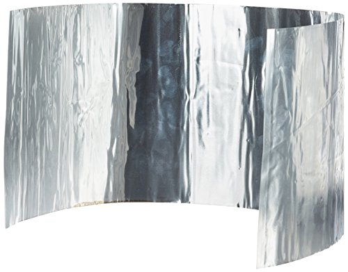 Relags Alu, rollbar Windschutz, Silber, 18 x 50 cm