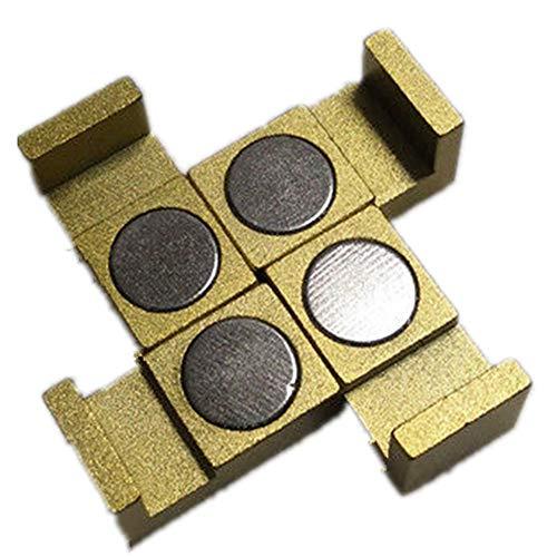 Magnetische Parallel Keeper, Halterungen. Vise, CNC, Kurt, Maschinenwerkzeuge, gold