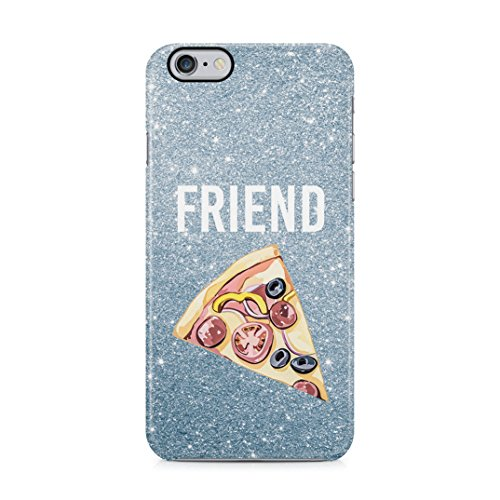 Pizza Food Friend Best Friends Girlfriend Matching Case for Birthday Custodia Protettiva in Plastica Rigida Case Cover Compatible with iPhone 6 / iPhone 6s Case