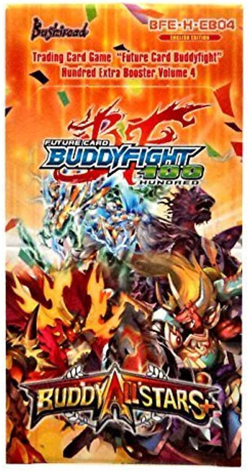 Buddyfight ALLSTARS PLUS + Future Card Hundrot TCG Game English BFE-H-EB04 Extra Booster Box - 15 packs   5 Cards by Buddyfight B01A9MK06M Ausgezeichneter Wert  | Wirtschaft