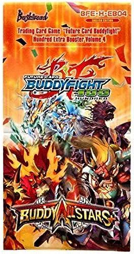 mejor calidad Buddyfight ALLSTARS PLUS + Future Card Hundrojo Hundrojo Hundrojo TCG Game English BFE-H-EB04 Extra Booster Box - 15 packs   5 Cards by Buddyfight  descuento de bajo precio