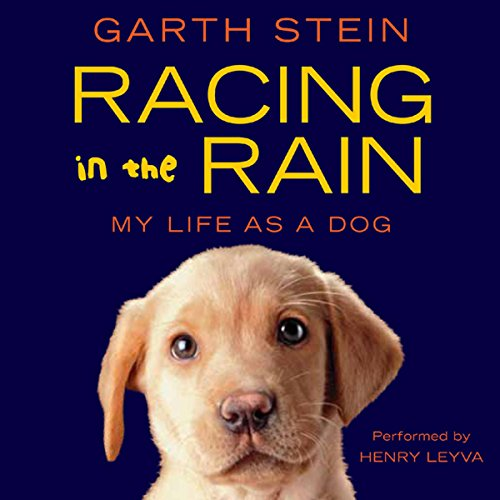 Racing in the Rain audiobook cover art