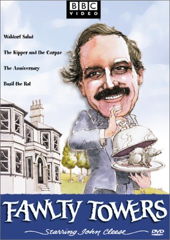 Fawlty Towers - Waldorf Salad/The Kipper and the Corpse/The Anniversary/Basil the Rat