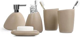 クリエイティブバスルームアメニティセット個人衛生洗浄浴室用品セット洗浄用品セットソープパッパーウォッシュボトルローションボトル