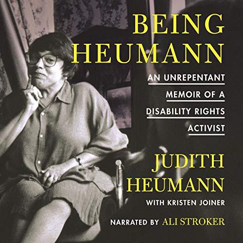 Being Heumann audiobook cover art