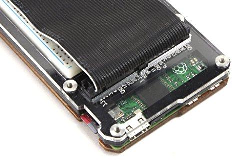 Zebra Zero Plus for Raspberry Pi Zero & Zero Wireless- Black Ice Plus Breadboard