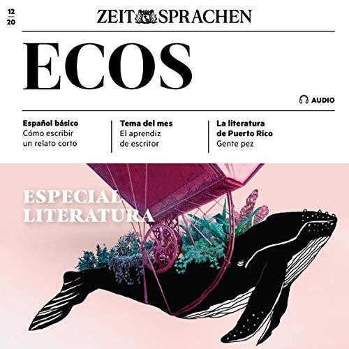 Ecos Audio - Especial Literatura. 12/2020 Titelbild