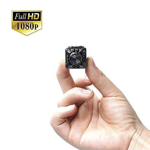Caméra Cachée Mini Caméra Cachée UYIKOO 1080P Caméra Portable de Détection de Mouvement Nanny Cam avec Vision Nocturne Pour Caméra de Surveillance Home / Office Security