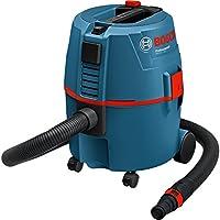 Bosch Professional 060197B000 Aspiratore a Umido/Secco Gas, Volume Contenitore 20 l, 1200 W, 230 V, Nero, Blu, Rosso,...