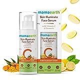 Mamaearth Skin Illuminate Vitamin C Serum For Radiant Skin with High Potency Vitamin C & Turmeric 30...