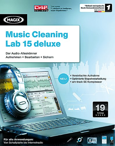 MAGIX Music Cleaning Lab 15 deluxe