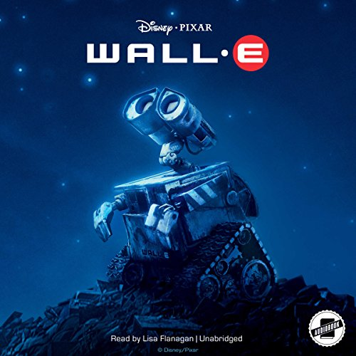 WALL-E audiobook cover art