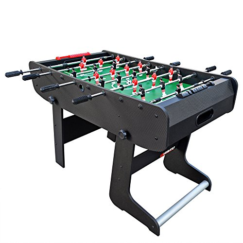 Viavito FT100X Folding Football Table - Black/Green, One Size