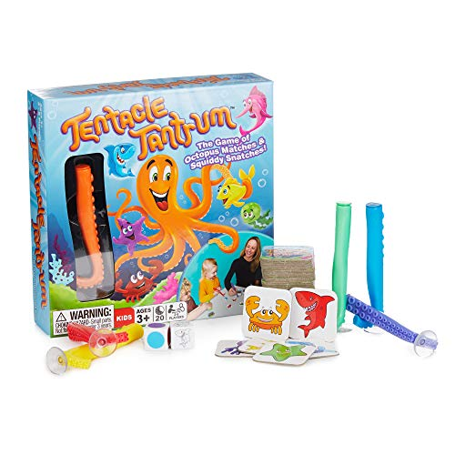 Tentacle Tantrum - Octopus Game of Matches and Squiddy Snatches