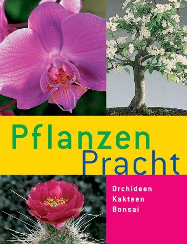 Pflanzen-Pracht; Orchideen,Kakteen,Bonsai ; Sonderausgabe; Deutsch; 301 farb. Fotos, 16 farb. Zeichn. -