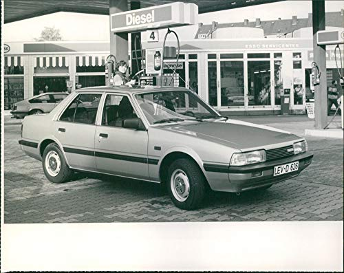 Mazda 626 D (Diesel) - Vintage Press Photo