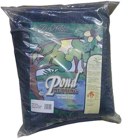 "x 28 ft.-Autumn Barrier Net Dewitt PN2828 3//4/"" Mesh Pond Leaf Netting 28 ft"
