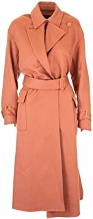 Luxury Fashion | Loro Piana Women FAI9566L00F Orange Cashmere Coat | Spring-summer 20