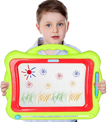 Toyvelt Magna Doodle Magnetic Drawing Board Pad For Kids The Board Features...