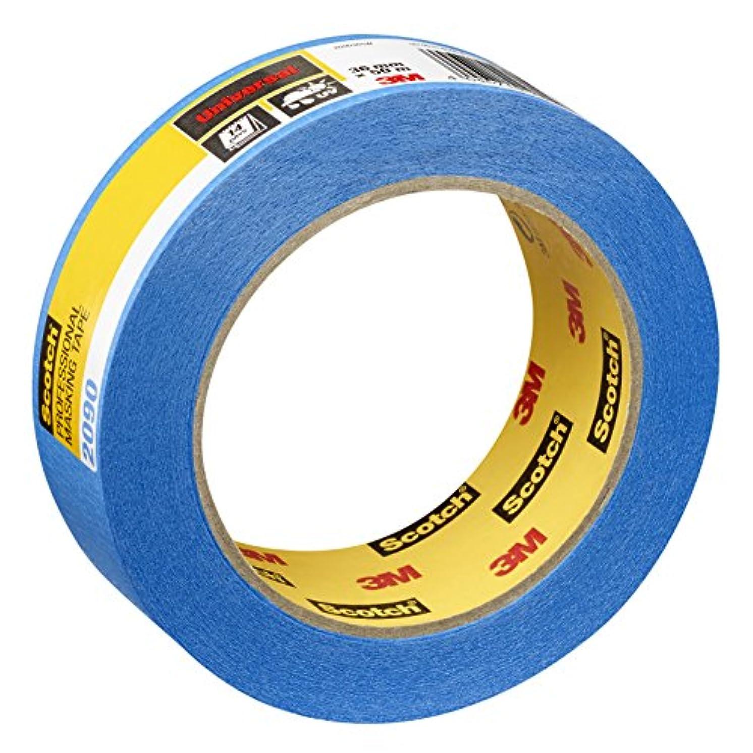 Scotch Painter's Masking Tape 36?mm x 50?m?–?Expert Plus Quality, Blue, PT209036