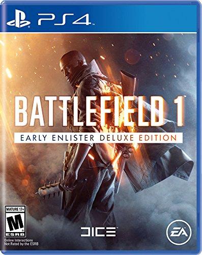 Battlefield 1 Early Enlister Deluxe Edition - PlayStation 4(Versión EE.UU., importado)
