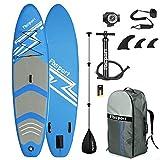 FBSPORT Sup Hinchable, 15 cm de Espesor Tabla de Surf Sup Paddleboard, Tabla Inflable de Paddle Surf, Set de Sup con Tabla y Accesorios