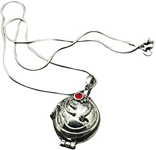 andy cool Elena Gilbert Vampire Diaries Secret Esthers Pendant Necklace Plaque-Plated Vintage Necklace x 1