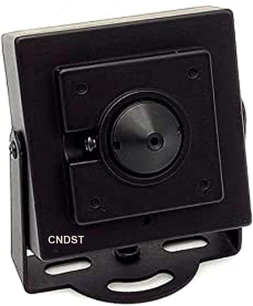 CNDST 1080P 2MP HD 2000TVL 4-in-1 TVI/CVI/AHD/960H CVBS CCTV Mini Spy Pinhole Security Camera, for 1080P 4-in-1 TVI/AHD/CVI/CVBS/960H DVR, f3.6mm Lens, 90 Degree, DC 12V 1A