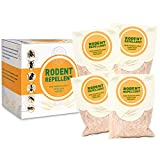 SEALUXE Rodent Repellent,Mouse Repellent,Pest Reject,Mice Repellent,Natural Rat Repellent,Pest Control,Insect Repellent 4 Pcs