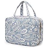 Bolsa de aseo grande para colgar, bolsa de maquillaje de viaje, organizador de cosméticos para...