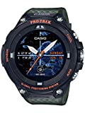 Casio Men's LCD Digital Quartz Watch with Resin Strap WSD-F20A-GNBAU