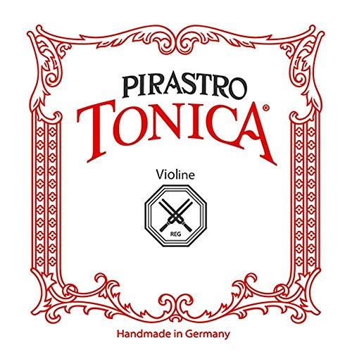 Pirastro Tonica 4/4 Violinensaiten Set Medium Gauge mit Ball End E Premium Saiten aus feinem, flexiblem Synthesekern, Ersatzzubehör für Profis und Studenten Violinspieler