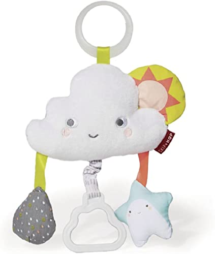 Skip Hop Baby Stroller Toy, Silver Lining Cloud Jitter, Cloud , 0.25 Pound