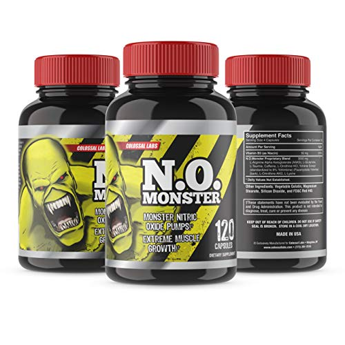 Colossal Labs N.O. Monster, 120-Cap…