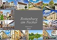 Rottenburg am Neckar Impressionen (Wandkalender 2022 DIN A2 quer): Sehenswertes aus der bezaubernden Stadt Rottenburg am Neckar (Monatskalender, 14 Seiten )