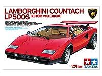 1/24 タミヤ ランボルギーニ カウンタック LP500S クリヤーコートレッドボディ