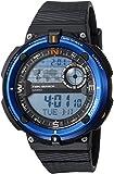 Casio Sgw-600h-2a Reloj Digital para Hombre Colección Outgear Caja De Resina Esfera Color Azul