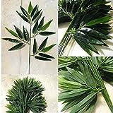 Bongles Verde 1 De Plantas del Ministerio del Interior Artificial Hojas De Bambú De La Decoración De Hojas Hotel Greenery