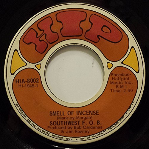 SOUTHWEST F.O.B. SMELL OF INCENSE / GREEN SKIES 45 rpm single